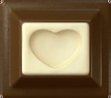 Two-layered Dark Chocolate