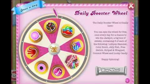 Daily Booster Wheel Lollipop hammer