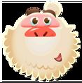 Mr. Yeti emoticon