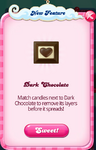 Dark chocolate feature