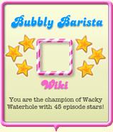 Bubbly Barista
