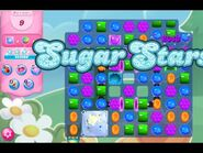Candy Crush Saga Level 8421 (Sugar stars, No boosters, First Try)