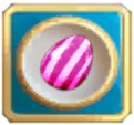 Four-charged Vertical Striped Candy Bonbon Blitz