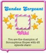 Sundae Sergeant