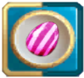 Two-charged Vertical Striped Candy Bonbon Blitz