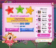 Level 65 is graded as a hard level completed