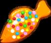 Orange Colour Bomb Fish
