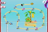Taffy Tropics Map Mobile