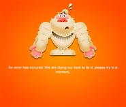 Game error