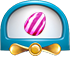 Vertical striped candy cannon new