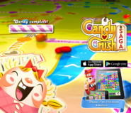 Candy Crush Saga Splash Loading beta