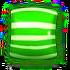 Striped green h
