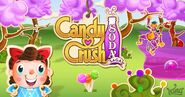 Candy Crush Soda Saga FacebookGameroom background