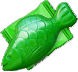 Greenfish wrapped