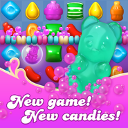 New game new candies