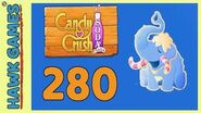 Candy Crush Soda Saga Level 280 Hard (Frosting mode) - 3 Stars Walkthrough, No Boosters