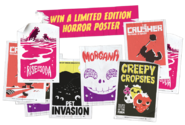 Win a limited edition horror poster