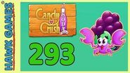 Candy Crush Soda Saga Level 293 (Jam mode) - 3 Stars Walkthrough, No Boosters