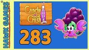 Candy Crush Soda Saga Level 283 (Jam mode) - 3 Stars Walkthrough, No Boosters