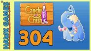 Candy Crush Soda Saga Level 304 (Frosting mode) - 3 Stars Walkthrough, No Boosters
