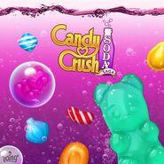 Candy Crush Soda Saga divine wallpaper