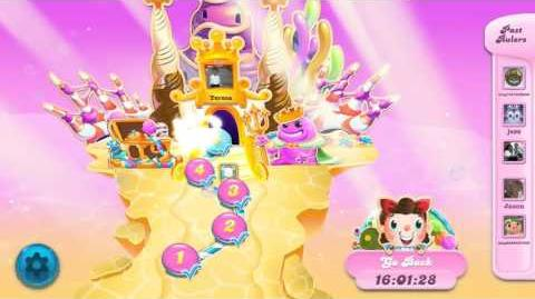 Candy Crush Soda Saga Mystery Challenge - Bubblegum Hill - October 20