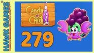 Candy Crush Soda Saga Level 279 (Jam mode) - 3 Stars Walkthrough, No Boosters