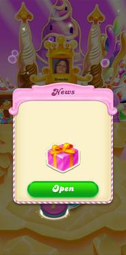 Bubblegum hill Open the gift