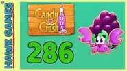 Candy Crush Soda Saga Level 286 (Jam mode) - 3 Stars Walkthrough, No Boosters