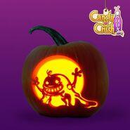 Pumpkin bubblegum Boo