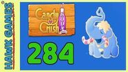 Candy Crush Soda Saga Level 284 (Frosting mode) - 3 Stars Walkthrough, No Boosters
