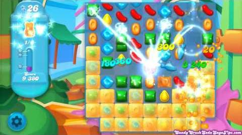 Candy Crush Soda Saga Bubblegum Hill All 5 Levels