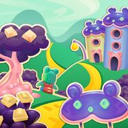 Candy Bear Village background