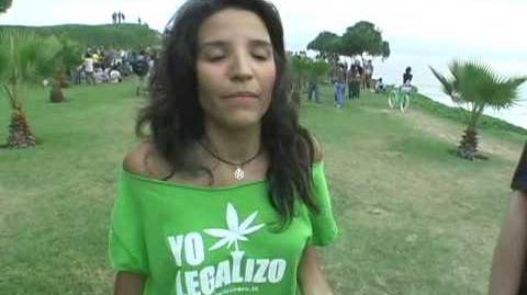 Global Marijuana March en Lima, Perú