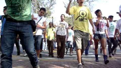 Marcha Mundial de la Marihuana - 7 de mayo del 2011 - Perú