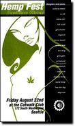 Seattle 1997 Hempfest fashion show