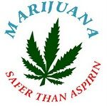 Marijuana is safer than aspirin