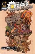 Cannon Busters Issue 0