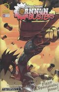 Cannon Busters comic