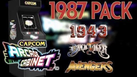 Capcom Arcade Cabinet - 1987 Game Pack Black Tiger, Avenger & 1943