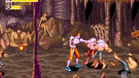 (Demo) キャプテンコマンドー Captain Commando (C)Capcom 1991