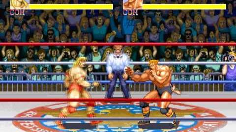 (Demo) マッスルボマー Saturday Night Slam Masters (C)Capcom 1993
