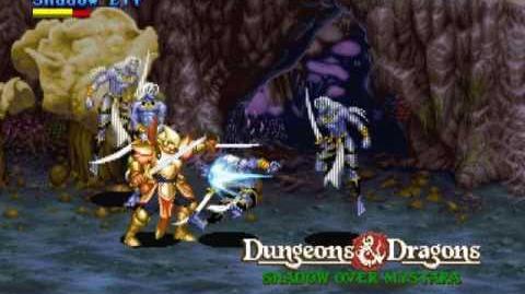 (Demo) ダンジョンズ&ドラゴンズ SOM D&D Shadow over Mystara (C)Capcom 1996