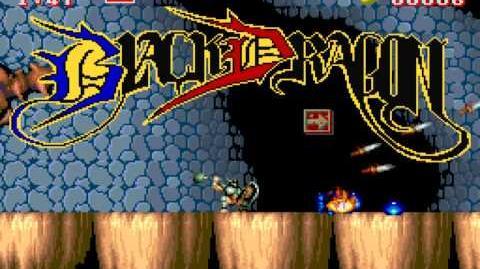 (Demo) ブラックドラゴン Black Tiger (C)Capcom 1987