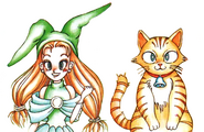 Adventure Quiz Capcom World 2 Pure the Mage & Fur the Cat