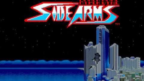(Demo) サイドアーム Side Arms - Hyper Dyne (C)Capcom 1986