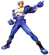 Namco × Capcom-CaptainCommando