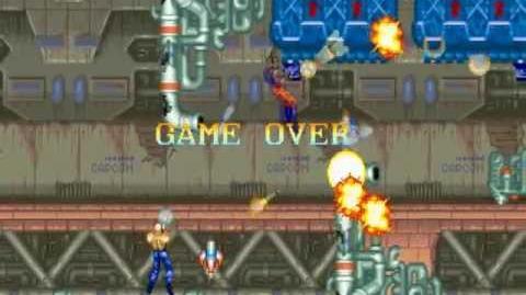 (Demo) ロストワールド Forgotten Worlds (C)Capcom 1988