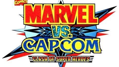 Marvel vs Capcom Clash of Super Heroes intro (arcade)