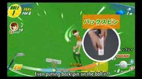 We Love Golf (Wii) Trailer